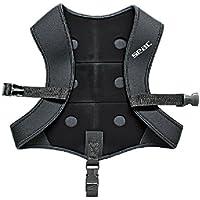 Seac New Vest - Trajes de pesca, color negro, talla S-M