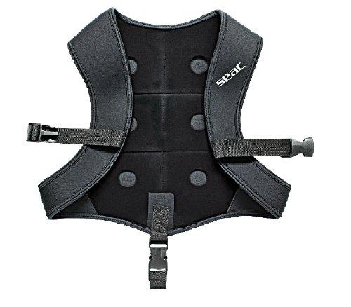 Apnoeweste BLACK SMOOTH XXL 5mm Bleitasche 6 kg