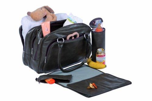 Wickeltasche Tender Multizip Bag, cognac - 2