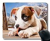 Gaming-Mousepads, Perfekt für Hundebabyhund, Präzisionsnaht, Robuste Mausunterlage
