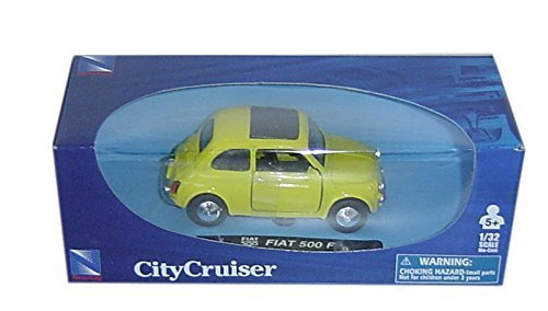 Fiat 500F 1957 gelb 1:32 Modellauto NewRay 50717 [Spielzeug]