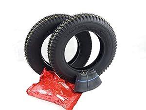 Pair 3.00-8 Black Mobility Scooter Tyres & Tubes 300x8 Wheelchair & Cordoba