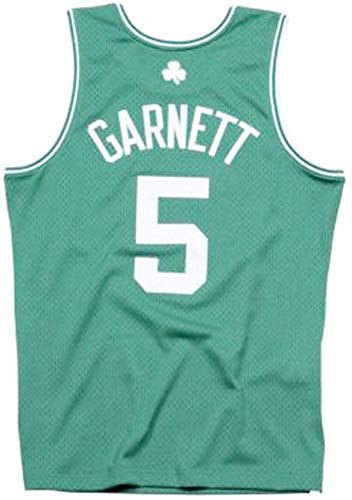 Mitchell & Ness Swingmann Jersey - Boston Celtics Kevin Garnett - NBA Basketball - Trikot - Fan Artikel (M)