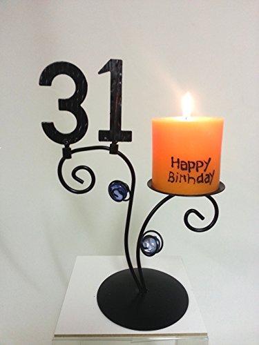 Leuchter Happy Birthday (31. - 31 Happy Birthday