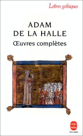 adam de la halle and ars Biography and work for adam de la halle, listen to classical music and albums or compositions by adam de la halle online.