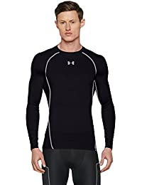 Under Armour Ua Hg Armour Ls, Camiseta de Compresión de Manga Larga Para Hombre, Negro (Black/Steel), XX-Large