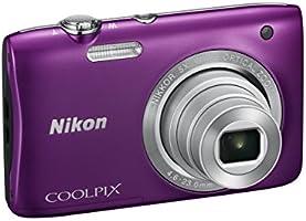 """Nikon Coolpix S2900 Compact Camera numérique, 20,1 mégapixels, zoom 5X, ISO 3200, LCD 2,7 """", HD, couleur: violet [carte Nikon: 4 ans de garantie]"""
