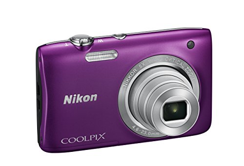 Nikon Coolpix S2900 Fotocamera Digitale Compatta, 20,1 Megapixel, Zoom 5X, 3200 ISO, LCD 2,7