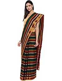 CLASSICATE From the house of Classicate From The House Of The Chennai Silks - Narayan Peth Cotton Saree - Multicolor - (CCMYSC9475)