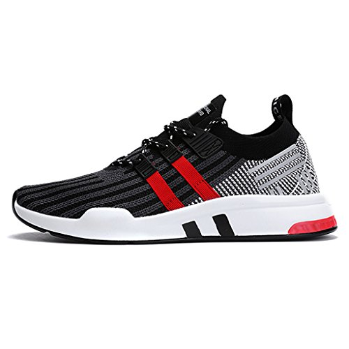 Ginnastica da allAperto Rosso Sneakers HUSKSWARE Fitness Grigio 1807 Uomo Scarpe Sportive Running Casual Corsa Interior EqFat