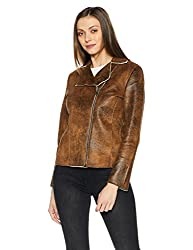Fort Collins Womens Cotton Jacket (17820 AZ-Black_L)