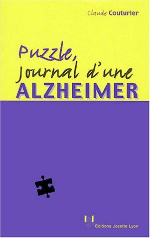 Puzzle : Journal d'une Alzheimer