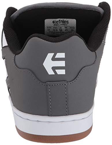 Etnies Fader 2, Zapatillas de Skateboard para Hombre, Gris (GreyWhite 370), 41 EU