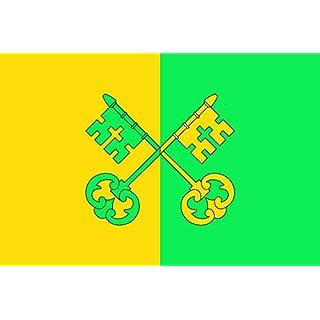 DIPLOMAT-FLAGS D Alfés | Apaisada | Apaïsada Flag | landscape flag | 0.06m² | 0.65sqft | 20x30cm | 8x12in Car Flag Poles