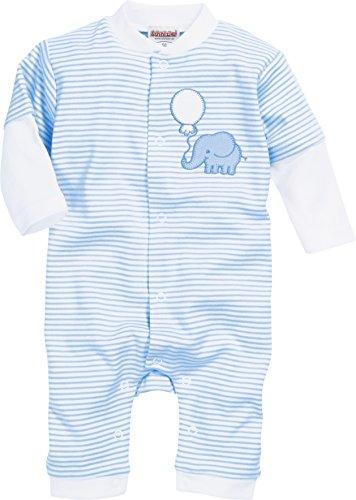 Schnizler Schlafoverall Elefant Pijama, Azul (Bleu 17), 58 (Talla del Fabricante: 56)...