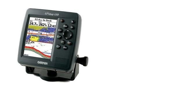 Garmin GPSMAP 498 Sounder 5-Inch Waterproof Marine GPS and ... on