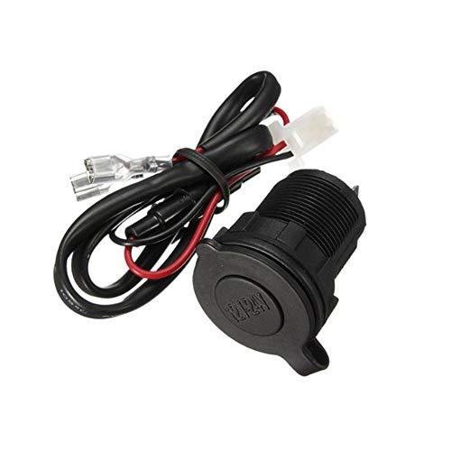 Yililay 12V/24V accendisigari auto universale impermeabile veicolo-montato caricabatterie presa di corrente con 60cm cavo nero auto parts
