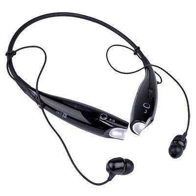 ZERNA Wireless Bluetooth Headset with Mic  Black