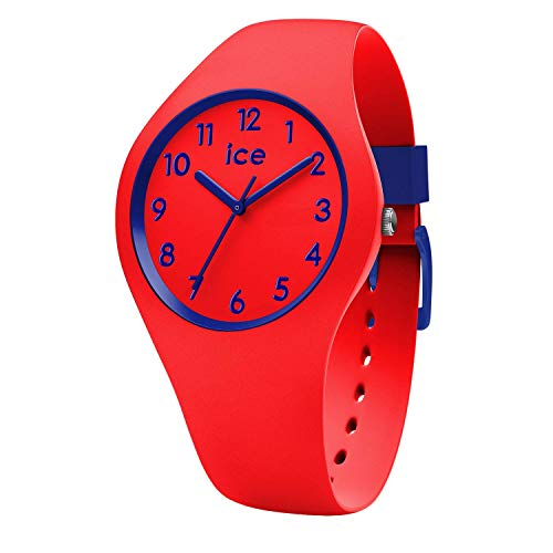 Ice-Watch - Ice Ola kids Circus - Rote Jungenuhr mit Silikonarmband - 014429 (Small) (Kids-uhren)