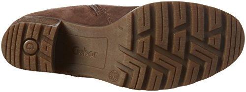 Gabor Comfort Sport, Bottes Classiques Femme Marron (Nougat Mel.)
