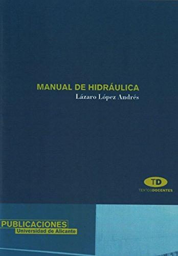 Manual de hidráulica (Textos docentes)