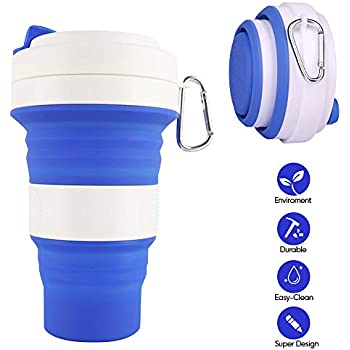 collapsible coffee cup foldable silicone travel cup. Black Bedroom Furniture Sets. Home Design Ideas