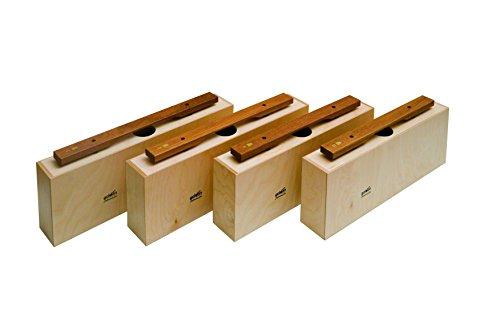 Goldon-Klangbausteine, 10625 Schneeschaufel-Blatt aus Sucupira Bass-Glockenspiele, 4 Stück