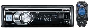 JVC- KD-R601 Autoradio CD / USB mp3 / WMA Entrée AUX 4 x 50 W Mosfet Egaliseur iEQ à 3 bandes Tuner Radio Noir