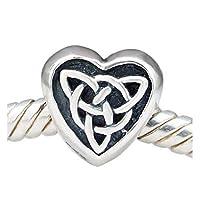 Essi sono compatibili con la maggior parte delle altre marche di ciondoli braccialetti, collane, ciondoli in argento sterling 925, migliori regali di Natale per la scelta
