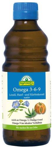 RAPUNZEL Omega 3-6-9, 1er Pack (1 x 250 g) - Bio