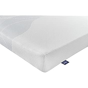 Silentnight 25Z318135MR0001 3-Zone Memory Foam Rolled Mattress - Double - White