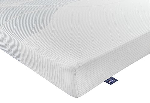 Silentnight 3-Zone Memory Foam Rolled Mattress - Single - White