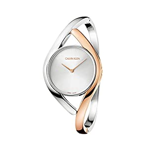 Calvin Klein Womens Analogue Quartz Watch with Stainless Steel Strap K8U2MB16