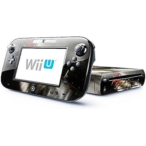 Musica 005, Chitarra, Skin Autoadesivo Sticker Adesivi Pelle Cover Decal Set con Disegno Strutturato con Nintendo Wii U