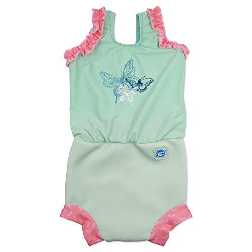 Splash About Mädchen Nappy Anzug, Libelle, 0-4 Monate, CHNDFS (Baby Jungen Schwimmen Kostüme 0 3 Monate)