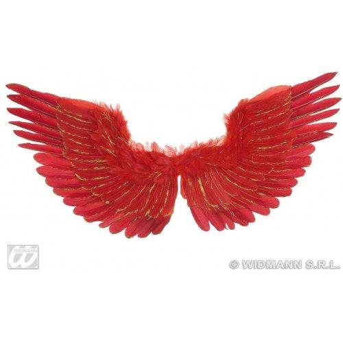 widmann-wdm8655r disfraz Adulto Unisex, Rojo, wdm8655r