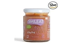 Smileat Potito de Tres Frutas - 230 gr - [Pack de 12]