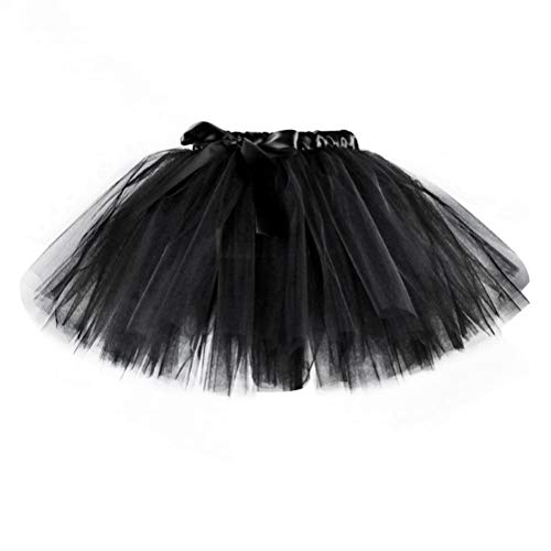 TENDYCOCO LED Tutu Dress Light Up Petticoat Miniröcke für Halloween Electric Club Dancing Party