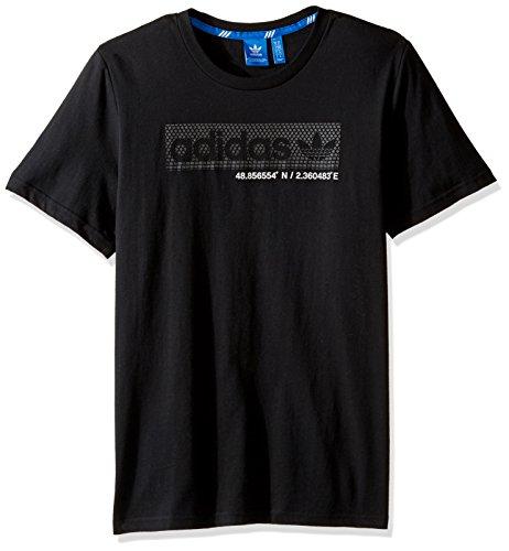 Adidas Originals Trefoil tee Black/Boxed Logo
