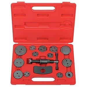 KS Tools 150.2015 Coffret repousse-piston pour étrier de frein 15 pièces pas cher