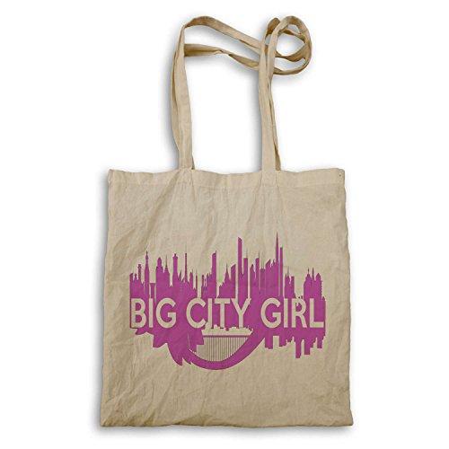 Regalo della novità grande città Funny Girl Nuovo tote bag (Grande E Capi Di Alto)