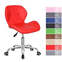 Desk chair,Office Swivel Chair Adjustable Height Computer Chair Comfy Padded Study Chair,Home/Office Furniture