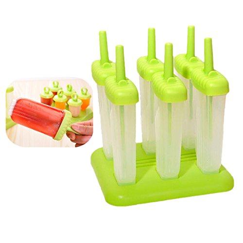 Demarkt Eis Formen Stieleis Formen Eis Formen grün 15 x 16.5cm