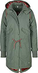 Blutsgeschwister Rock N Royal Air W Parka Aviator Green