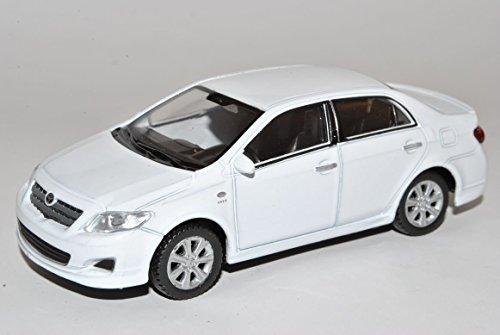toyota-corolla-limousine-weiss-ab-2006-1-43-welly-modell-auto-mit-individiuellem-wunschkennzeichen