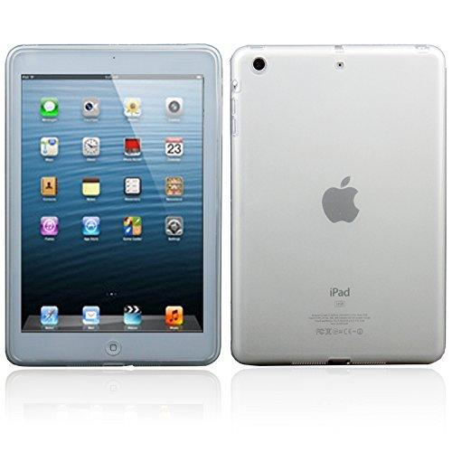 Tablettenetuis, Transparente Scrub Pure Farbe TPU Tasche für iPad mini 1/2/3 ( Farbe : Transparent ) -