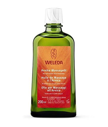 weleda olio x massaggio arnica 200 ml azione recupero sport crampi