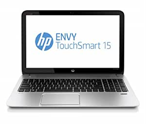 "HP Envy Touchsmart 15-j098sf Ordinateur Portable tactile 15,6"" (39,62 cm) Intel Core i7 4700MQ 2,4 GHz 1 To 8192 Mo Nvidia GeForce GT 740M Windows 8 Argent Naturel"
