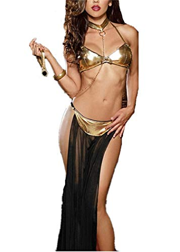 NAVARCH Exotic Apparel Frauen Damen Baby Dolls G-String Dienstmädchen sexy Babydoll Cosplay Uniform Dienstmädchen Nachtwäsche Kleid Dessous Reizwäsche