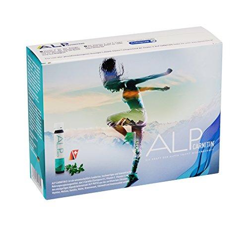 ALP NUTRITION, ALP CARNITIN L Carnitin Liquid Trinkampullen 14×25 ml L Carnitine Sportnahrung Zum Trinken Vital Diät Drink